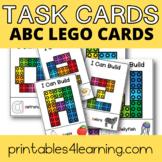 Fine Motor Task Cards: ABC Lego Pack