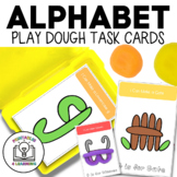 Fine Motor Task Cards: ABC Play Dough Pack