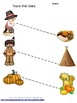 Thanksgiving Activities Tracing  Fine Motor Pre-K, K, Special Ed Early Childhood