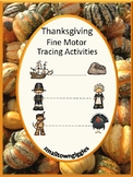Thanksgiving, Tracing Activities,Tracing Lines,Fine Motor