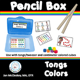 Fine Motor Tongs COLORS (Preschool Prek Special Education