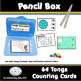 Fine Motor Tongs COUNTING NUMBERS