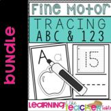 Fine Motor Alphabet & Number Tracing Bundle