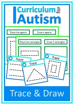 Tracing Drawing Fine Motor Skills Autism Special Education OT
