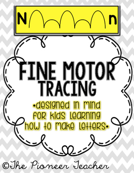 Fine Motor Tracing {Get Ready To Write!}