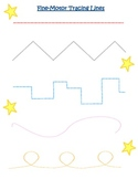Fine-Motor Tracing Lines (Preschool FMS development)