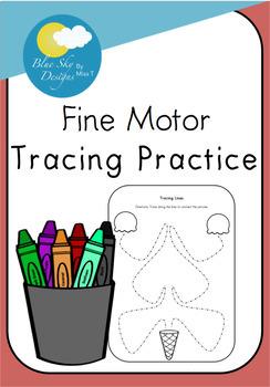 Fine Motor Tracing Practice