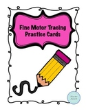 Fine Motor Tracing Practice Cards