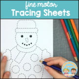 Fine Motor Tracing Sheets