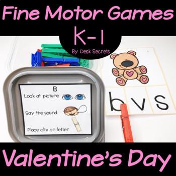 Fine Motor Skills Valentine's Day