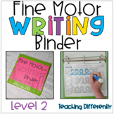 Fine Motor Worksheets Binder - Level 2