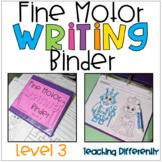 Fine Motor Worksheets Binder - Level 3