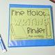 Fine Motor Worksheets Binder - Pre-Writing Level