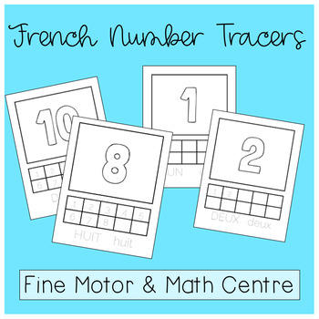 Fine Motor and Math Centre (in French!)