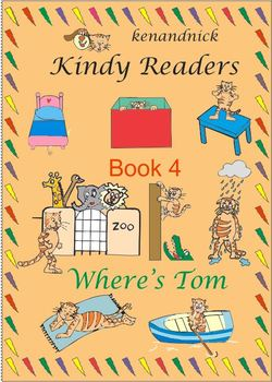 Fine Motor and Text Recognition - Kindy Reader 4 - Where's Tom?