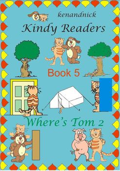 Fine Motor and Text Recognition - Kindy Reader 5 - Where's Tom? 2