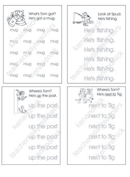 Fine Motor and Text Recognition - Kindy Readers 2 - 7 Bundle