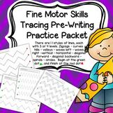 Fine Motor Skills Tracing Pre-Writing Practice Preschool Distance Learning