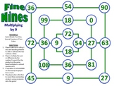 Fine Nines - A 2-Player Game to Practice Multiplying a Number By 9