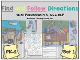 Find and Follow Directions Set 1