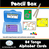 Preschool Pencil Boxes or Centers Fine motor ALPHABET AND PHONICS