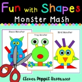 Fun with Shapes - 'Monster Mash'