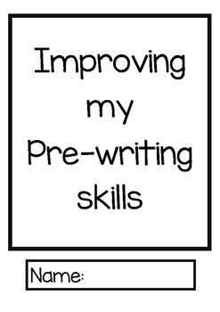 Fine-motor skills booklet
