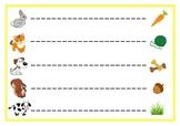 Fine motor skills line tracing
