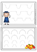 Fine motor skills task cards - pre-writing skills practice -Occupational Therapy