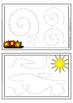 Fine motor skills task cards - pre-writing skills practice