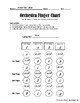 Finger Chart Worksheet for ALL String Orchestra Instruments