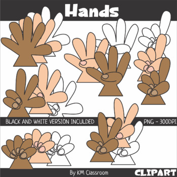 Finger Counting Clip Art