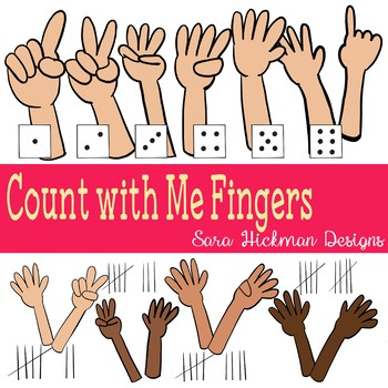 Finger Counting Clipart