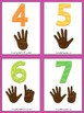 Finger Counting Flashcards