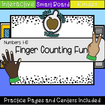 Finger Counting Fun Numbers 1-10 (SMART Notebook)