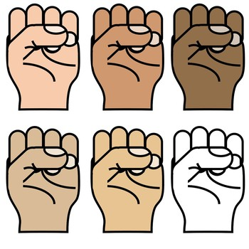 Finger Counting Hand Clipart