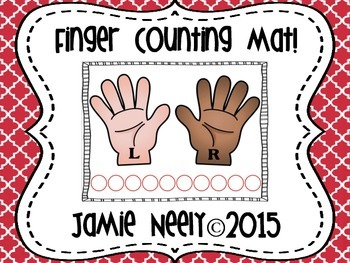 Finger Counting Mat