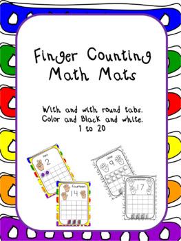 Finger Counting Math Mats