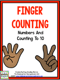 Finger Counting to 10 With Matching Posters!