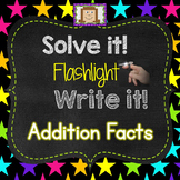 Finger Flashlight Addition Facts