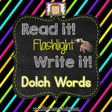 Finger Flashlight Dolch Words