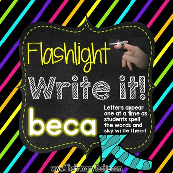 Finger Flashlight EDITABLE Version