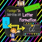 Finger Flashlight Handwriting CURSIVE
