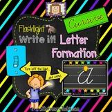 Finger Flashlight Handwriting CURSIVE