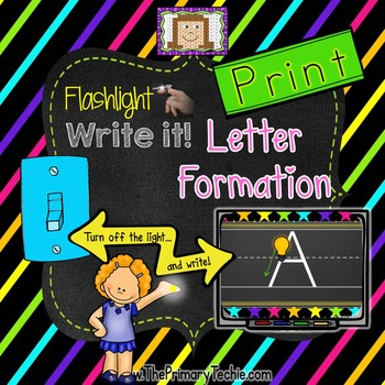 Finger Flashlight Handwriting PRINT
