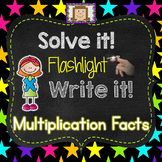 Finger Flashlight Multiplication Facts
