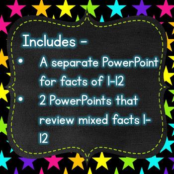 Finger Flashlight Multiplication Facts