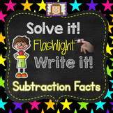 Finger Flashlight Subtraction Facts