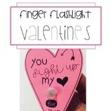 Finger Flashlight Valentines