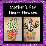 Finger Flowers Art